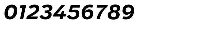 Salvo Sans Bold Italic Font OTHER CHARS