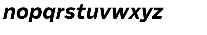 Salvo Sans Bold Italic Font LOWERCASE