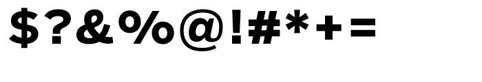 Salvo Sans Bold Font OTHER CHARS