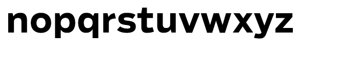 Salvo Sans Bold Font LOWERCASE
