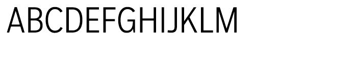 Salvo Sans Condensed Light Font UPPERCASE