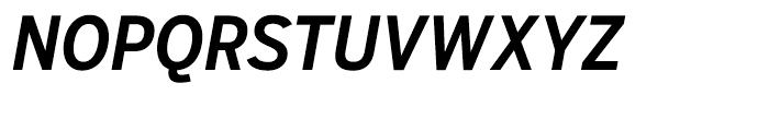 Salvo Sans Condensed Medium Italic Font UPPERCASE