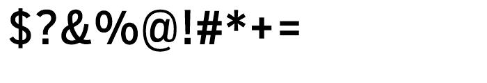 Salvo Sans Condensed Regular Font OTHER CHARS