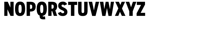 Salvo Sans Extra Condensed Black Font UPPERCASE