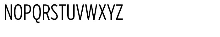 Salvo Sans Extra Condensed Light Font UPPERCASE