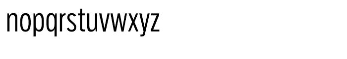 Salvo Sans Extra Condensed Light Font LOWERCASE