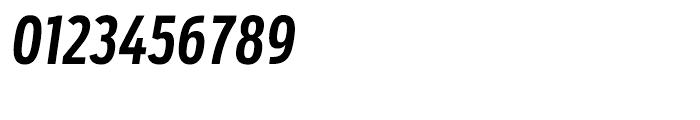 Salvo Sans Extra Condensed Medium Italic Font OTHER CHARS