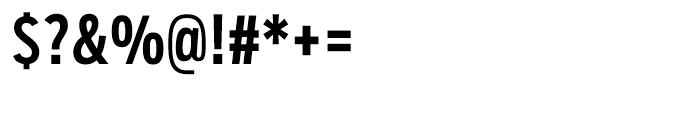 Salvo Sans Extra Condensed Medium Font OTHER CHARS