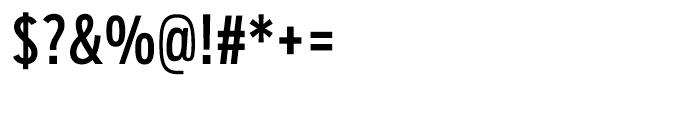 Salvo Sans Extra Condensed Regular Font OTHER CHARS