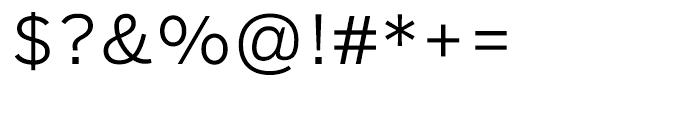Salvo Sans Light Font OTHER CHARS
