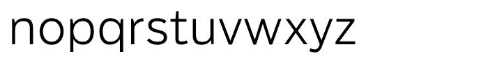 Salvo Sans Light Font LOWERCASE