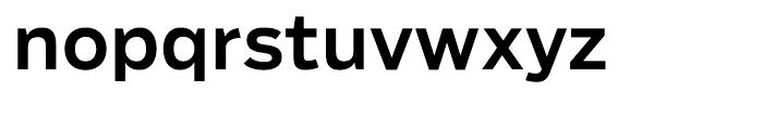 Salvo Sans Medium Font LOWERCASE