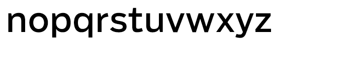 Salvo Sans Regular Font LOWERCASE