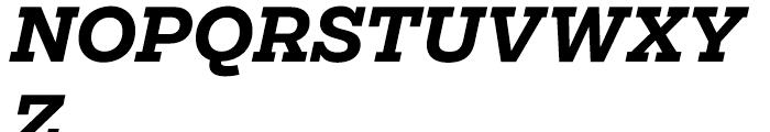 Salvo Serif Bold Italic Font UPPERCASE