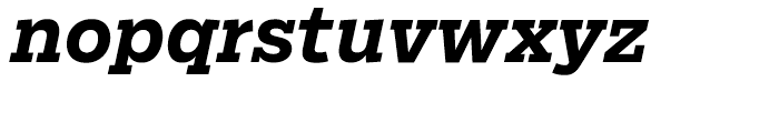 Salvo Serif Bold Italic Font LOWERCASE