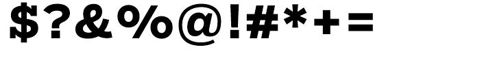 Salvo Serif Bold Font OTHER CHARS