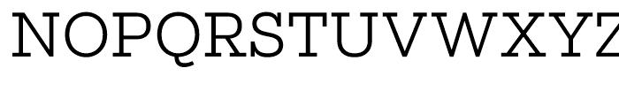 Salvo Serif Light Font UPPERCASE