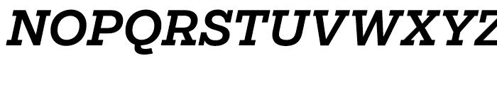 Salvo Serif Medium Italic Font UPPERCASE