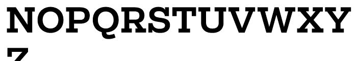 Salvo Serif Medium Font UPPERCASE