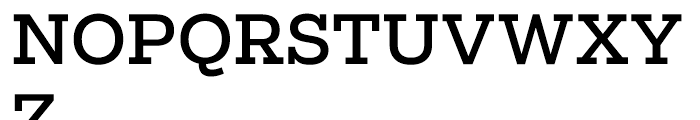 Salvo Serif Regular Font UPPERCASE
