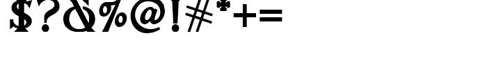 Salzburger Plakat NF Regular Font OTHER CHARS