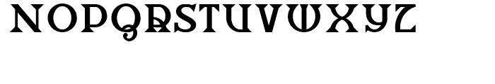 Salzburger Plakat NF Regular Font LOWERCASE