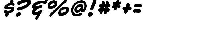 Samaritan Lower Intl Bold Italic Font OTHER CHARS
