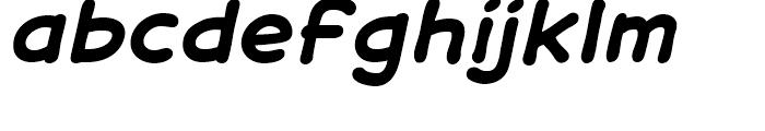 Samaritan Lower Intl Bold Italic Font LOWERCASE