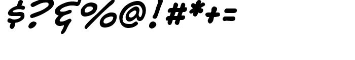 Samaritan Lower Intl Italic Font OTHER CHARS