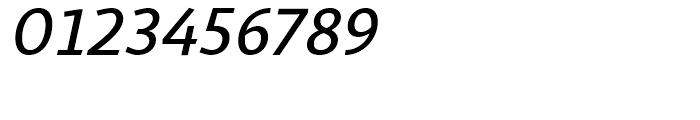 Sana Sans Alt Medium Italic Font OTHER CHARS