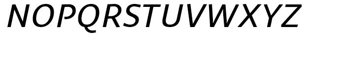 Sana Sans Alt Medium Italic Font UPPERCASE