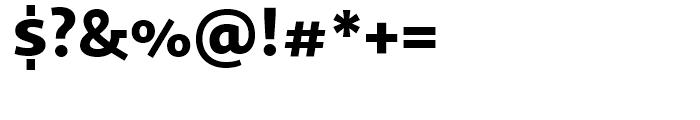 Sana Sans Black Font OTHER CHARS