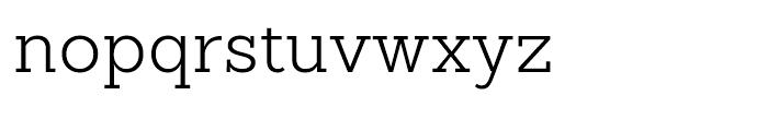 Sanchez Slab Light Font LOWERCASE