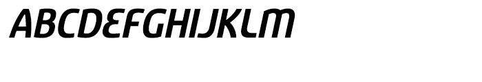 Sancoale Bold Italic Font UPPERCASE