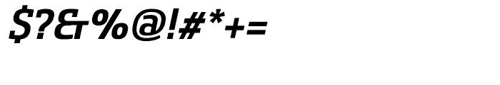 Sancoale Slab Norm Bold Italic Font OTHER CHARS