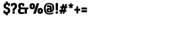 Sancoale Slab Soft Condensed Bold Font OTHER CHARS