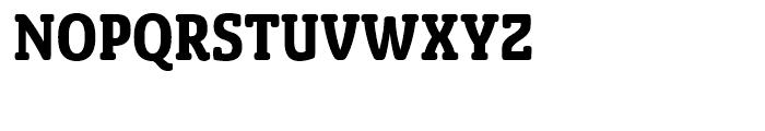 Sancoale Slab Soft Condensed Bold Font UPPERCASE