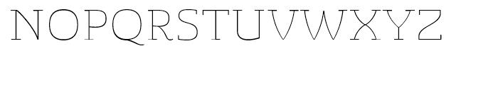 Sancoale Slab Soft Extended Thin Font UPPERCASE