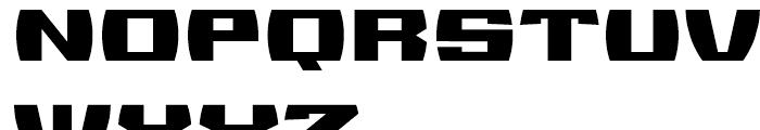Sanos Regular Font UPPERCASE