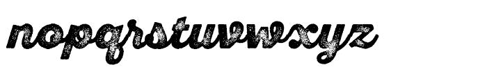 SantElia Rough Alt Black Three Font LOWERCASE