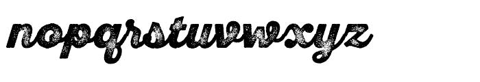 SantElia Rough Black Three Font LOWERCASE