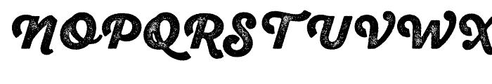 SantElia Rough Black Two Font UPPERCASE