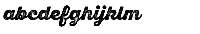SantElia Rough Black Two Font LOWERCASE