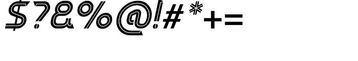 Sargon Medium Italic Font OTHER CHARS