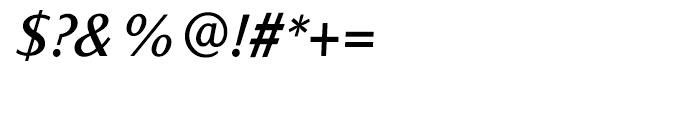 Sassoon Italic Medium Font OTHER CHARS