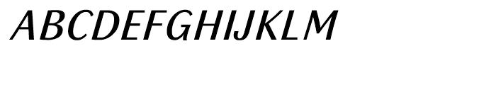 Sassoon Italic Medium Font UPPERCASE