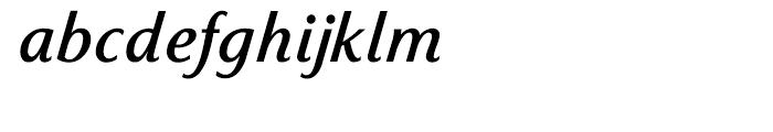 Sassoon Italic Medium Font LOWERCASE