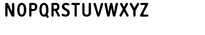 Saturday Sans Bold Font UPPERCASE