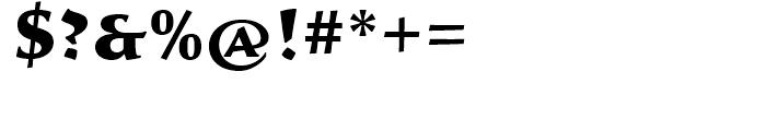 Sava Black Font OTHER CHARS