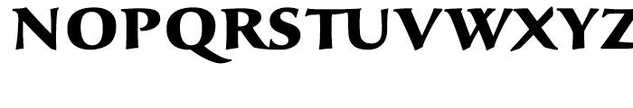 Sava Black Font UPPERCASE